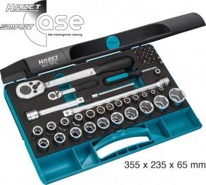 Hazet Knarrenkasten mit 47 enthaltenen Werkzeugteilen und der Modellnummer 953SPC