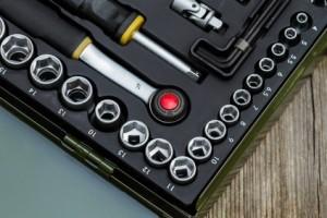 Proxxon Steckschlüsselsatz in der Industrial Ausführung.
